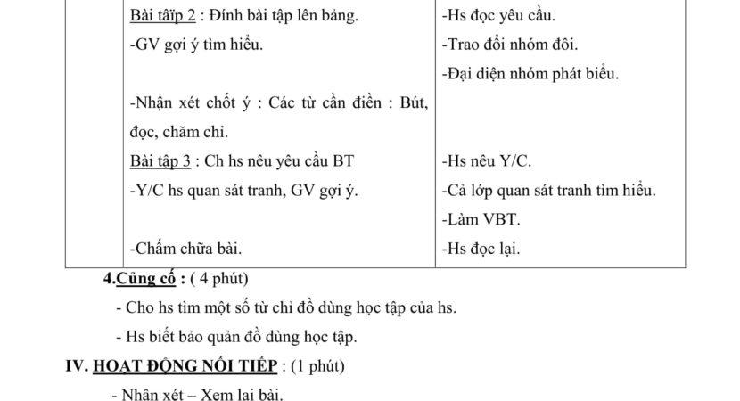 giáo án luyện từ và câu lớp 2