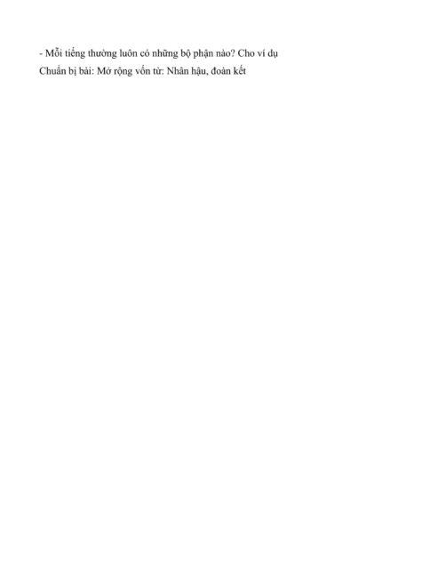 giáo án luyện từ và câu lớp 4