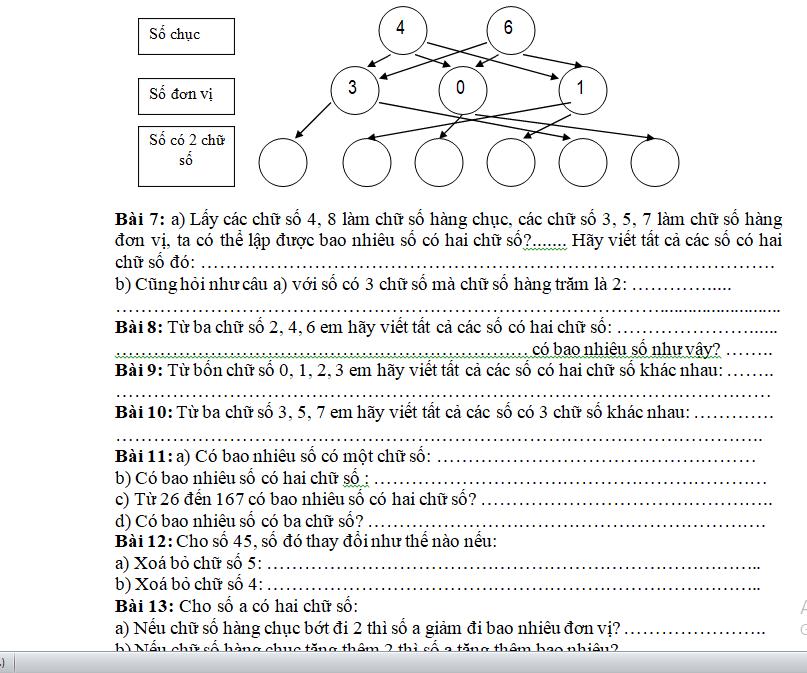 180 bài toán cơ bản và nâng cao lớp 2