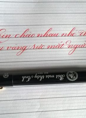 bút mài thầy ánh sh 021