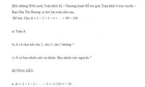 toán khối 6