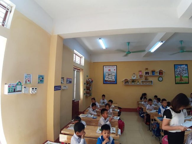 hình ảnh trang trí lớp học