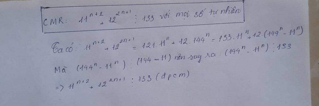 hướng dẫn giải toán chứng minh