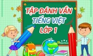 Bảng đánh vần tiếng Việt