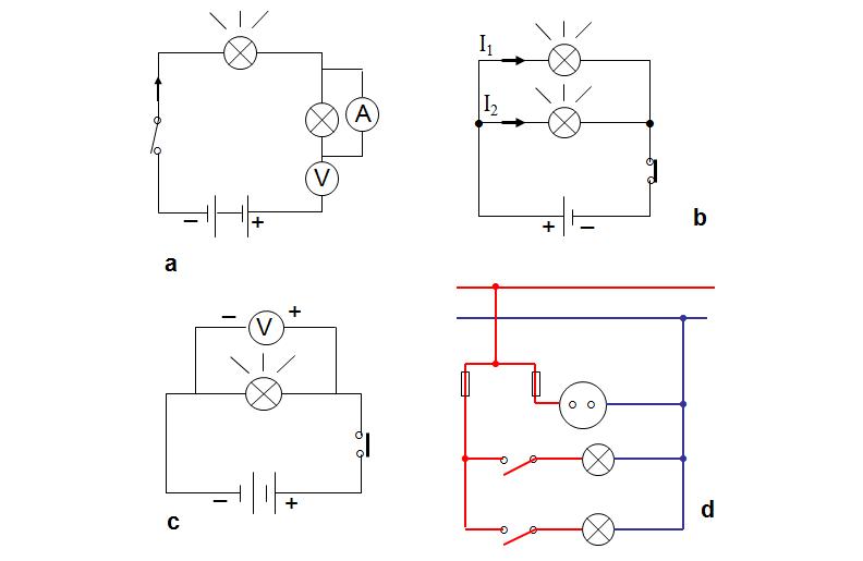 Sơ đồ nguyên lý mạch điện - Bài thực hành công nghệ 8