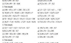 Dạng toán tìm x lớp 5