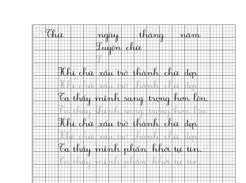 luyện viết chữ hoa cỡ nhỏ p2